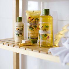 Una delicia para tus sentidos con los productos para el cuidado corporal a base del extracto de #mango y aceite esencial de #cilantro
