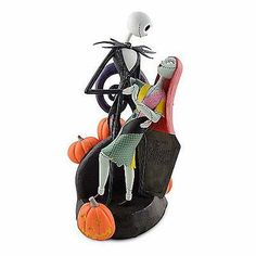 Disney Medium Figure Statue Jack Skellington Sally Zero The Nightmare Before Christmas Figurine New With Box