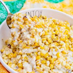 Crock Pot Creamed Corn • Love From The Oven