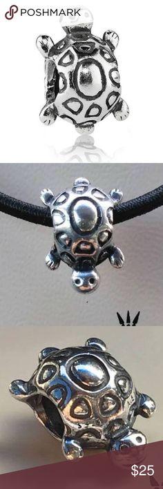 Turtle pandora charm Silver turtle pandora charm Pandora Jewelry Bracelets