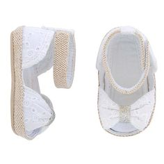 Fashion-forward footwear gets a pint-sized makeover with the Baby Girls& Eyelet Espadrille Peep-toe Sandal from Circo. These baby sandals pair perfectly with skirts, dresses or even shorts for a dressed-up look. Baby Girl Sandals, Girls Sandals, Baby Girl Shoes, Girls Shoes, Little Baby Girl, Cute Baby Girl, Baby Girls, Cute Baby Clothes, Sock Shoes