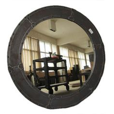 Nautical Mirror Large, $385, now featured on Fab.