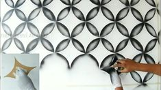 Hi guys thank you for watching my video. Geometric Wall Paint, Geometric Quilt, Spray Paint Wall, Tinta Spray, 3d Wall Painting, 3d Wall Murals, Bedroom Wall Designs, Paint Effects, Home Room Design