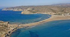 Prasonisi Beach, Rhodes, Greece