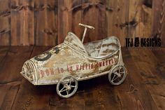 Image of Lil Speed Racer - Car Prop - Newborn Toddler - Photography Prop