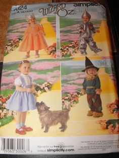 Toddler Wizard Of Oz Costumes by ChloizzysCloset on Etsy, $75.00 - 25% off Dorothy costumes, LIMITED TIME