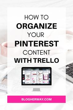 Hey Pinterest Marketer! If you are like me you create a lot of images for Pinterest. Did you know you can easily organize your Pinterest content using Trello. Trello is a free online work productivity tool and it is a great place to keep track of all of your Pinterest images. Click to learn more and watch my video tutorial on how to use Trello for Pinterest organization. #pinteresttips #trellotips #pinterestmarketing Marketing Tactics, Content Marketing Strategy, Work Productivity, Pinterest Images, How To Stop Procrastinating, Pinterest For Business, Blogger Tips, Online Work, Pinterest Marketing