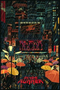 Blade Runner by Raid 71 - Home of the Alternative Movie Poster -AMP- - Blade Runner Archives – Home of the Alternative Movie Poster -AMP- -