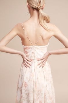 Blush Multi Inesse Dress | BHLDN