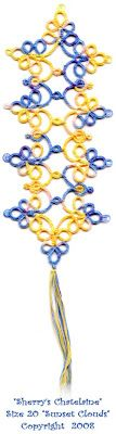 Tatting Tales ~ All things Tatting (It's an obsession): Link to bookmark pattern