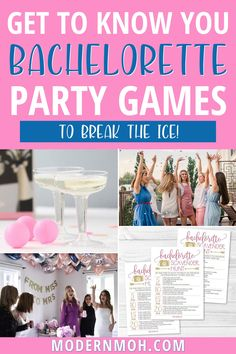 Play any of these get-to-know-you bachelorette party games to break the ice between bridesmaids! These games can be played at home or while out and about! #bachelorettepartygames #bachelorettedrinkinggames #ModernMOH Bachelorette Drinking Games, Bachelorette Party Scavenger Hunt, Bachelorette Weekend, Funny Drinking Games, Maid Of Honor Speech, Belly Laughs, Getting To Know You, Girls Night Out, Cards Against Humanity