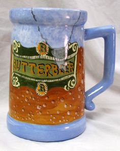 HARRY POTTER BUTTERBEER STEIN BY EARTHARTSOFLB ON ETSY, $35.00