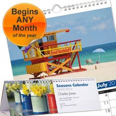 Personalised Seasons Calendar  from Personalised Gifts Shop - ONLY £9.99