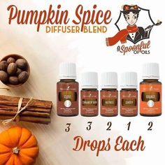 Young Living Essential Oils: Pumpkin Spice Diffuser                                                                                                                                                                                 More