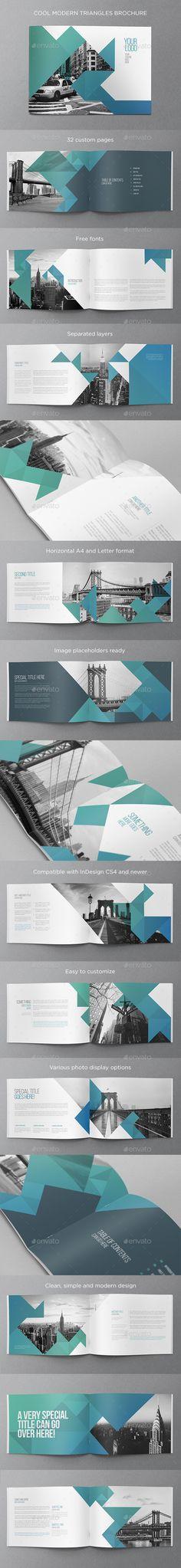 Cool Modern Brochure 1183 best Brochures images