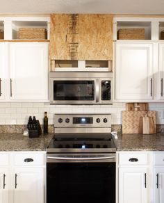 Microwave Vent Hood, Over The Stove Microwave, Stove Vent Hood, Kitchen Vent Hood, Oven Hood, Stove Hoods, Microwave In Kitchen, Kitchen Redo, Kitchen Ideas