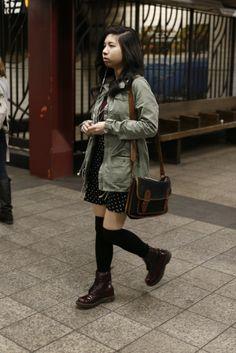 New York subway style. [Photo by John Aquino]