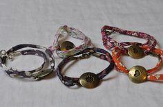 Image of Bracelet Liberty Coeur ou Soleil