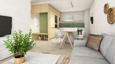 Archilab - flat in Slnečnice, Bratislava www. Bratislava, Cozy Apartment, Scandinavian Living, Entrance, Dining Room, Live, Bed, Interior, Modern