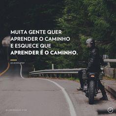 Aprender é o caminho. Adorei @caioblumer  #vida #coach #aprendersempre #agentenaoquersocomida #avidaquer @avidaquer por @samegui avidaquer.com.br http://ift.tt/2oIw8fY