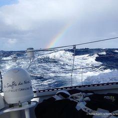 Photo envoyée par Thomas Ruyant à bord de @lesouffledunord ! Merci Thomas ! / Picture sent by Thomas Ruyant. Thank you ! ____________________________________________ #VG2016 #extreme #sailing #instasailing #sailingworld #roundtheworld #offshoresailing #oceanmasters #offshore #imoca60 #vendeeglobe #vendeeglobe2016 #solosailors #oceanracing #picoftheday #photooftheday #instapic