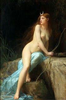 Diana, Jules-Joseph Lefebvre, 1879