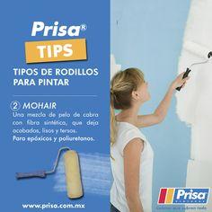 #PrisaTips Tipos de rodillo. 2. Mohair. http://www.prisa.com.mx/ #ColoresQueCubrenTodo