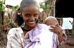 Ethiopian mother | Land of Refuge