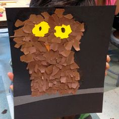Art Projects for Kids: Fluffy Owl