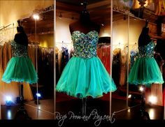 100DJ094670195 EMERALD/TURQUOISE HOMECOMING DRESS Big Multi Colored Stones adorn the Sweetheart Bodice of this Adorable Emerald Dress. Perfect for Homecoming, Sweet Sixteen or any other Formal! ONLY at Rsvp Prom and Pageant in Lawrenceville, GA. Come and Try it on or Buy it NOW at http://rsvppromandpageant.net/collections/short-dresses/products/100dj094670195-emerald-homecoming-dress