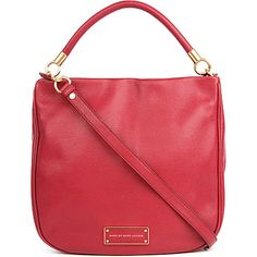 MARC BY MARC JACOBS Too Hot to Handle hobo (Lipstick red