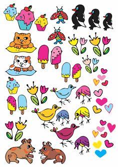 Hello Kitty, Stickers, Illustration, Fun, Fictional Characters, Illustrations, Fantasy Characters, Decals, Hilarious