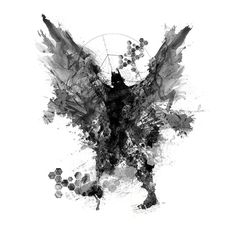 Paint Splatters - Batman