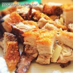 remove pork fat to make crackling Roast Pork Crackling, Crackling Recipe, Pork Roast, Delicious Recipes, Crockpot Recipes, Keto Recipes, Chicken Recipes, Dessert Recipes, Awesome Food