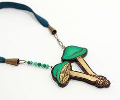 "The Naturalist's Cabinet ""Fairy Ring Mushroom Necklace"" | Art Star"