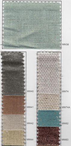 Metallic linen source