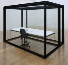 Damien Hirst, 'The Acquired Inability to Escape' 1991 - This is what if felt like to work in an office