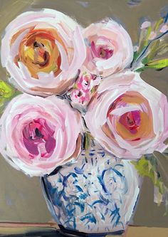 Impressionist Art Acrylic Painting Original by Marendevineart