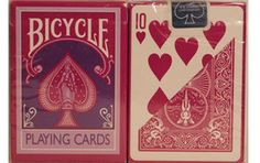 Bicycle Fashion Berry Playing Cards #playingcards #games #poker