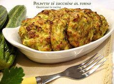 Polpette di zucchine al forno http://blog.giallozafferano.it/graficareincucina/polpette-zucchine-forno/