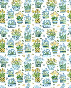 buquets-01 fabric by katja_saburova on Spoonflower - custom fabric