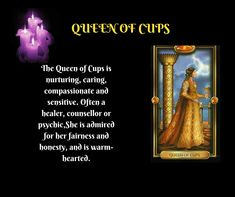 Tarot Meanings, Honesty, Healer, Compassion, Meant To Be, Cups, Learning, Movie Posters, Mugs