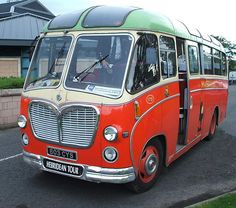 MacBraynes Bus - 1961 Restored Bedford Coach 603CYS - used by Northern Constabulary Pipe Band, via Flickr.