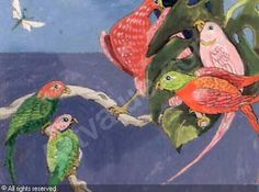 Ferdinand Finne (1910 – 1999): Dialog Ferdinand, Bird Art, Norman, Auction, Artsy, Birds, Painting, Watercolor, Bird