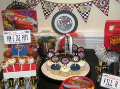 DIY Cars party package