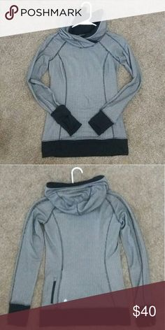 Lululemon Think Fast Hoodie Size 2. Cozy and thick Rulu herringbone ❤ No flaws to note. Skims the body but doesn't fit tight. From smoke-free, dog-friendly home   No trades. Thank you! 😊 lululemon athletica Tops Sweatshirts & Hoodies