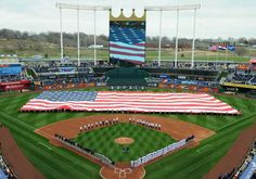 Royals Home Opening 2014
