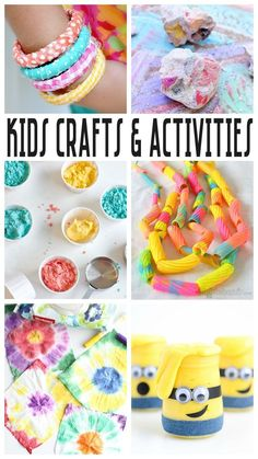 Kids Crafts and Activities | So many fun ideas.