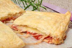 La Pizza Parigina veloce è una versione più veloce della classica parigina che prevede una base di pizza che io ho sostituito con il pancarré, è deliziosa!!