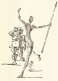 Salvador Dali illustrates Don Quixote  - A series of drawings and paintings